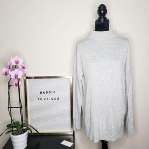 Chelsea 28 mock neck sweater tunic